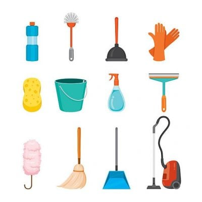 End of lease Cleaning Tools
