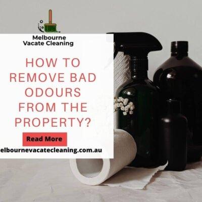 remove bad odours